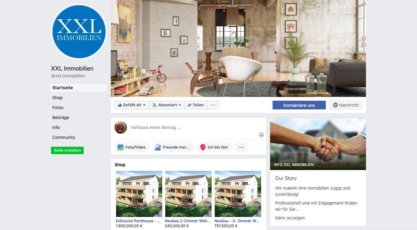 Facebook - XXL Immobilien